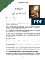 Curso Bíblico, Lección 01, Introducción a la Biblia