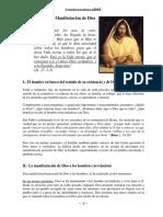 Curso Bíblico, Lección 02, Jesús manifestación de Dios