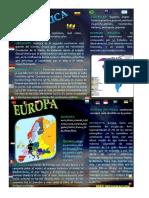 5 Continentes Del Mundo, Con Dibujo y Concepto, Q7 Color Rapida