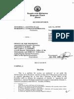 Grno207355 Agustin-se vs Office of the President Feb032016