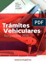 Tramites Vehiculares Requisitos Nuevo Leon 2016