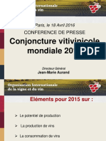 Conference de Presse Avril 2016