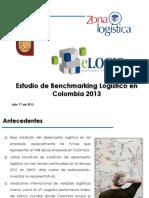 1er Estudio Benchmarking Indicadores Logisticos COL Diego Saldarriaga