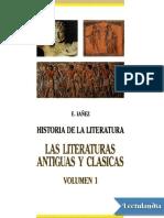 Las Literaturas Antiguas y Clasicas - Eduardo Ianez
