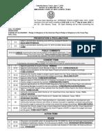 6-7-16 Agenda