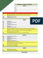 Cronograma-Estagio No Ensino Medio