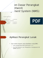 Manajemen Trafik Chapter 7 (Rudimentary NMS Software Components)