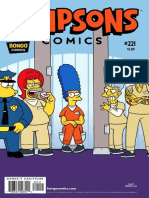 Simpsons Comics Issue 221 - 2015 USA