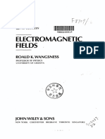 Wangsness Electromagnetic Fields