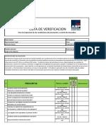 Lista de Verificación de Las Condiciones Prevención y Control de Incendios