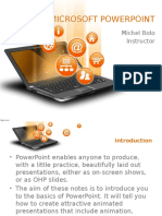 Introduction to PPT