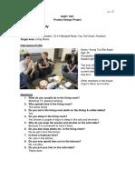 Product Design report