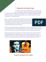 Biografía de Felipe Pinglo