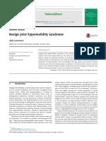 Benign joint hypermobility