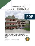 JURNAL FARMASI VOL XI NO 1 FEBRUARI 2015.pdf