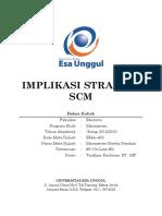 Implikasi Strategi SCM