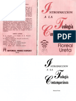 Introducción a la teología contemporánea. Floreal Ureta.