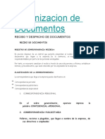 Organizacion de Documentos