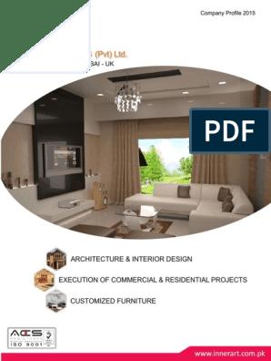 Inner Art Company Profile Interior Design Design