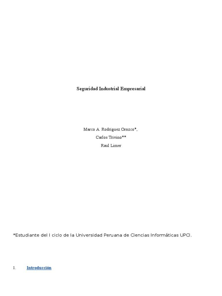Seguridad Industrial Empresarial.docx