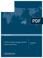 Chinas Climate Change Policies