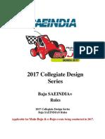 2017_Baja SAE India Rulebook_Rev00