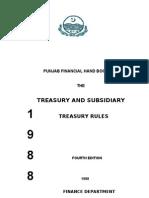 treasury rules TR STR