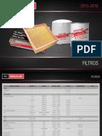 CODIGOS filtros MOTORCRAFT