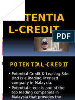 Get fast and Easy Personal Loan with Potential Credit