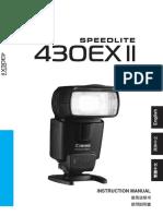 Canon 430 Ex II - UM