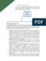 Esquema Proceso Laboral guatemalteco