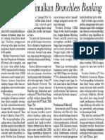 BI-Telko Optimalkan Branchless Banking (PERBANKAN, Investor Daily, 11 April 2013)