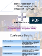 11th International Conference on Healthcare, Nursing and Disease Management (HNDM)