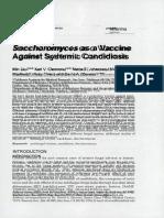 Saccharomyces as Vaksin Candidiasis