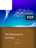 Tacheometric Survey