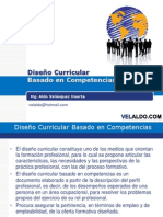 DiseñoCurricularBasadoCompetencias - Taller