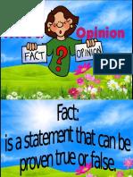 Presentation fact nd opiniop1