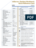 Workbench9 Quick Reference Card