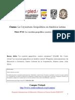 Clase Nº12- La Cuestión Geopolítica- Nuevos Comienzos