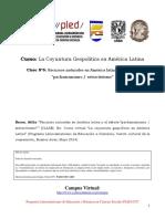Clase Nº6- Recursos Naturales en América Latina y El Debate Pachamamismo - Extractivismo