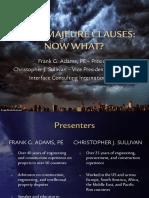 Force Majeure Presentation PDF