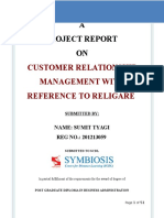 Crm Project Report