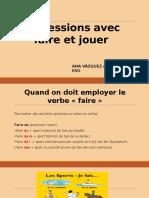 Expressions Avec Faire Et Jouer 160210201154