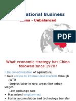 China UnBalanced