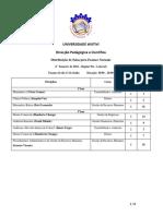 Calendario de Exames Pos Laboral 2016