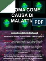 3 Genoma Come Causa Di Malattia