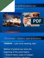 7. Terrorism