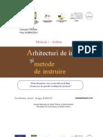 Arhitecturi de Invatare Si Metode de Instruire