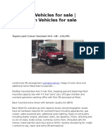 Overland Vehicles for sale | Expedition Vehicles for sale | Europe