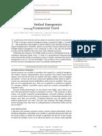 In Flight Med Emergency During Commercial Travel